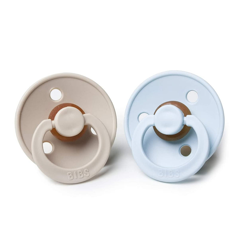 BIBS BPA-Free Natural Rubber Baby Pacifier