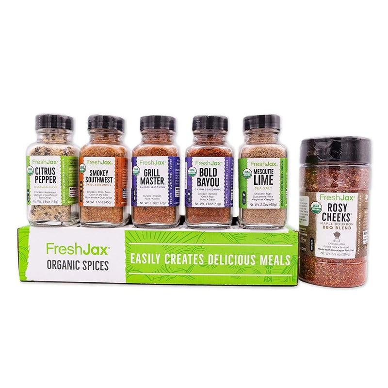 FreshJax Premium Gourmet Organic Spices and Seasonings