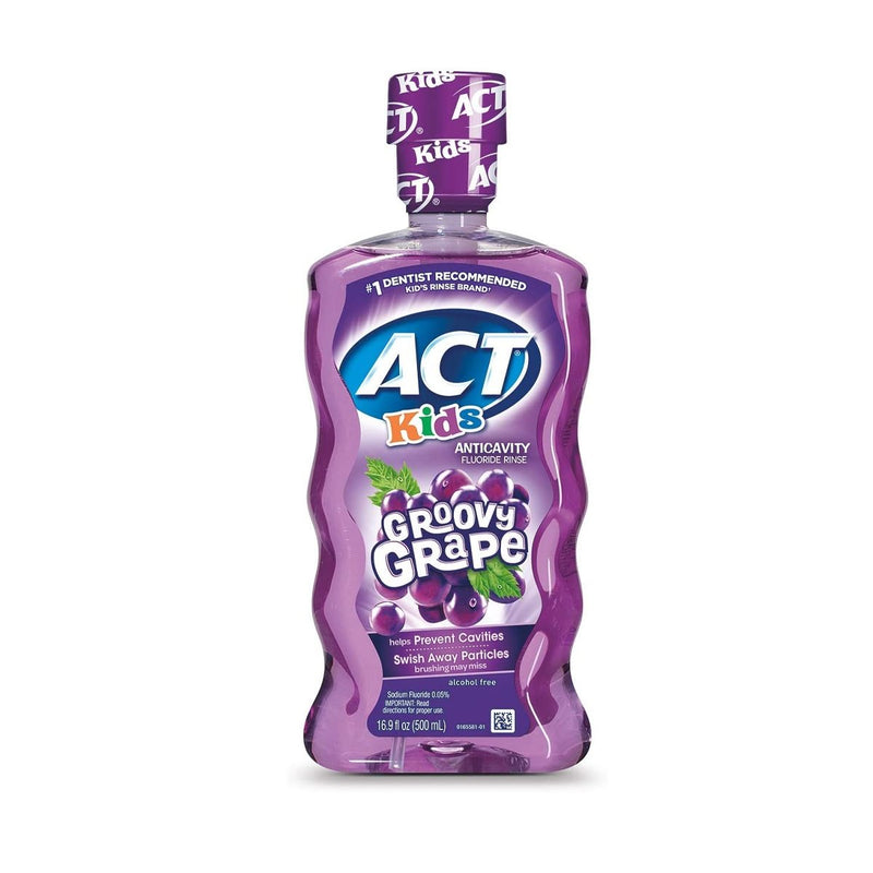 ACT Kids Anti-Cavity Fluoride Rinse Groovy Grape