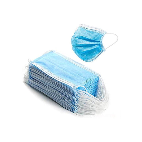 Disposable Face Masks - 50 PCS - For Home & Office