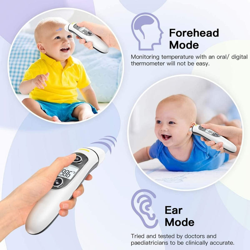 Baby Thermometer, Thermometer for Fever Ear and Forehead