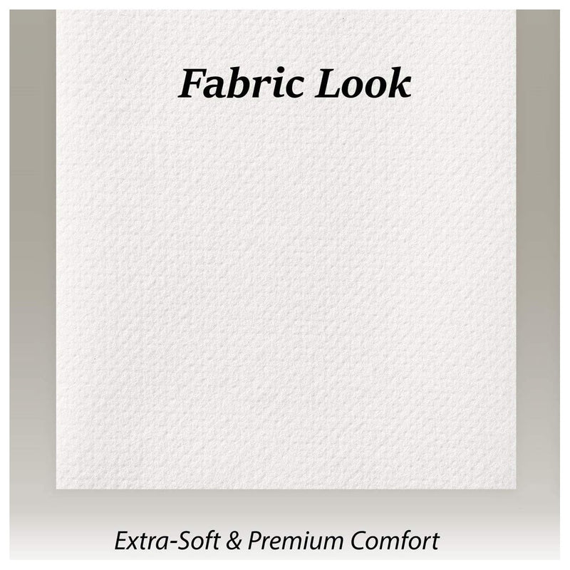 Disposable Linen-Feel Guest Towels - Fabric-Like Paper Napkins