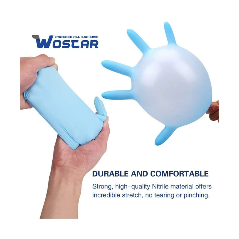 Wostar Nitrile Disposable Glov