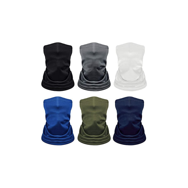 Kupton 6Pcs Bandana Neck Gaiter Sun UV Protection