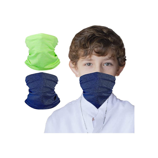 2 Packs Kids UV Protection Face Cover Neck Gaiter