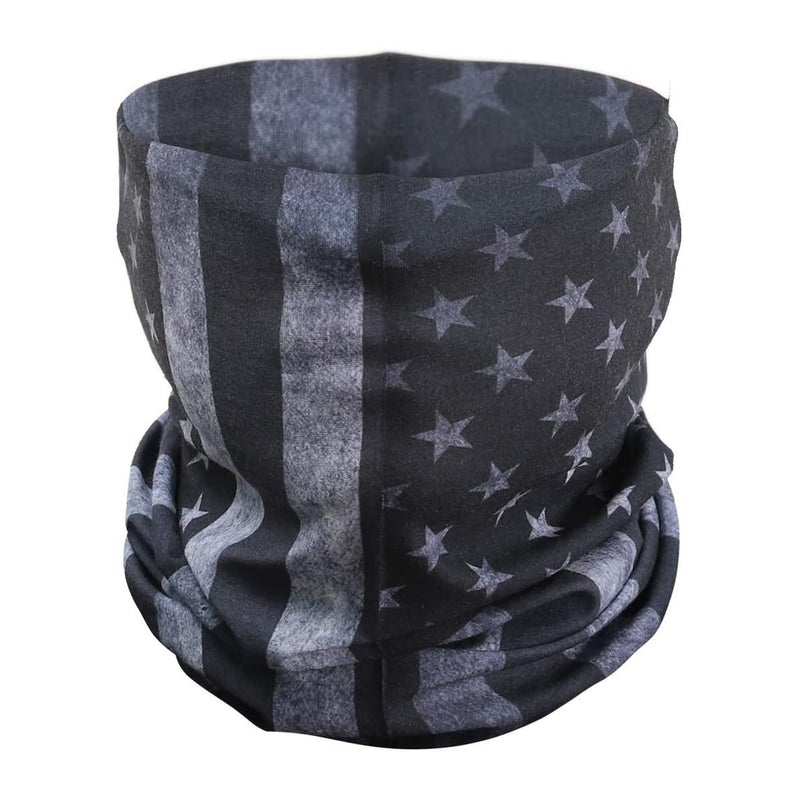 PAMASE American Flag Outdoor Face Mask