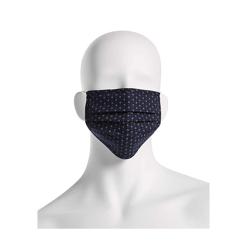 Reusable Pleated Woven Fabric Face Masks