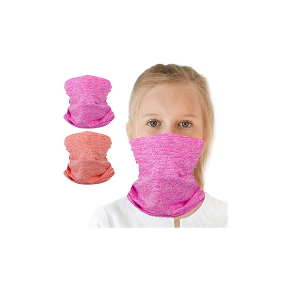 6-14 Years Olds Kids UV Protection Face Cover and Neck Gaiter