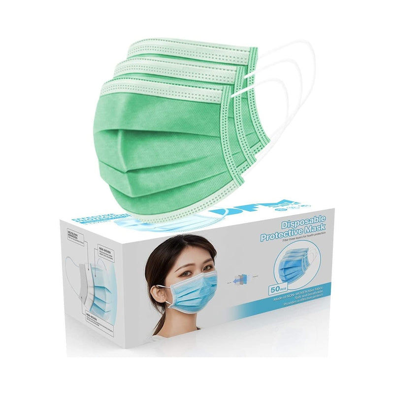 Face Cover 3-Ply Filter Non Medical Breathable Earloop Masks