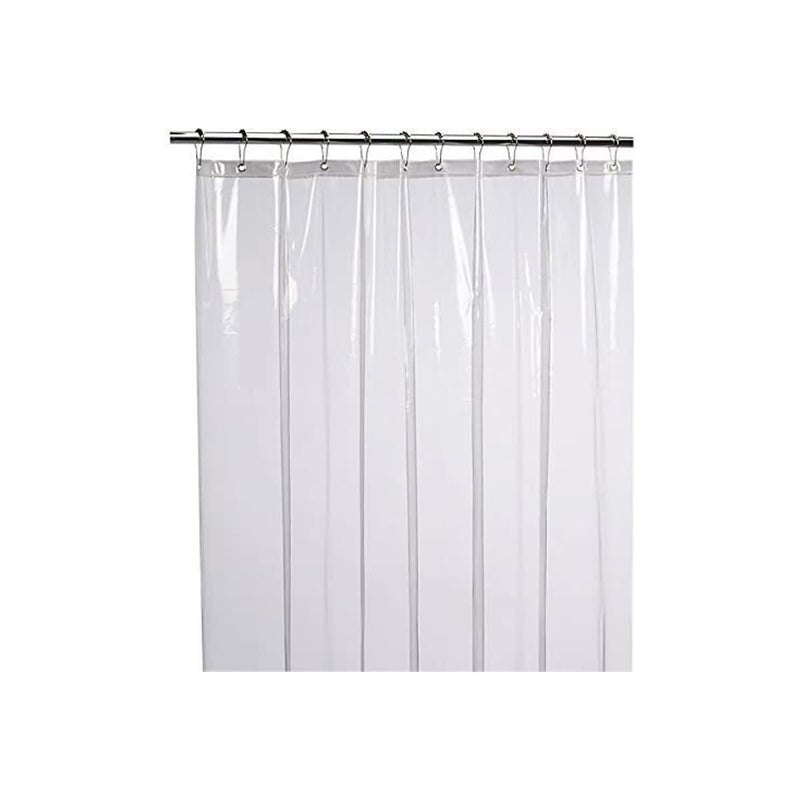 LiBa Mildew Resistant Antimicrobial PEVA Shower Curtain Liner