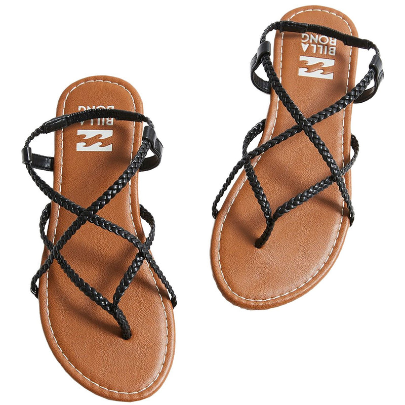 Billabong Crossing Over Sandal Off Black