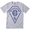 DC Arrowhead Knit Men's Short-Sleeve Shirts Heather Grey #color_Heather Grey