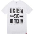 DC Bevel Men's Short-Sleeve Shirts White #color_White