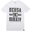 DC Bevel Men's Short-Sleeve Shirts White