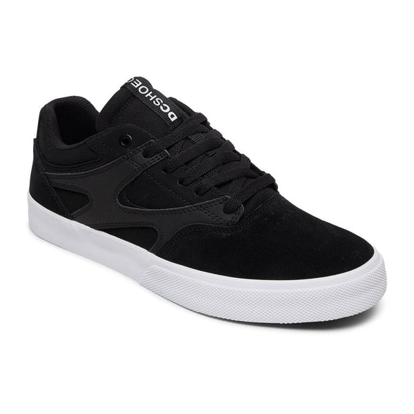 DC Kalis Vulc Shoes Black / White #color_Black / White
