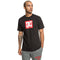 DC Square Star Men's Short-Sleeve Shirts Black #color_Black