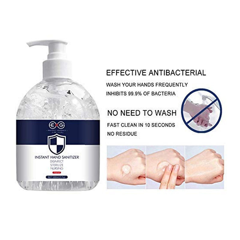 EG Refreshing Hand Sanitizer Gel White