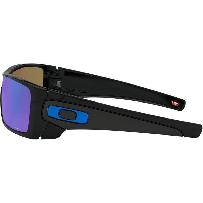 Oakley Batwolf Sunglasses Polished Black / Prizm Sapphire