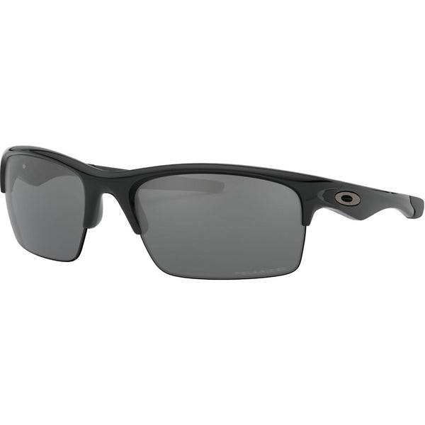 Oakley Bottle Rocket Sunglasses Polished Black / Black Iridium Polarized #color_Polished Black / Black Iridium Polarized