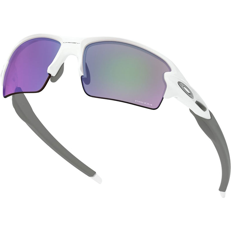 Oakley Flak 2.0 Sunglasses Polished White / Prizm Golf