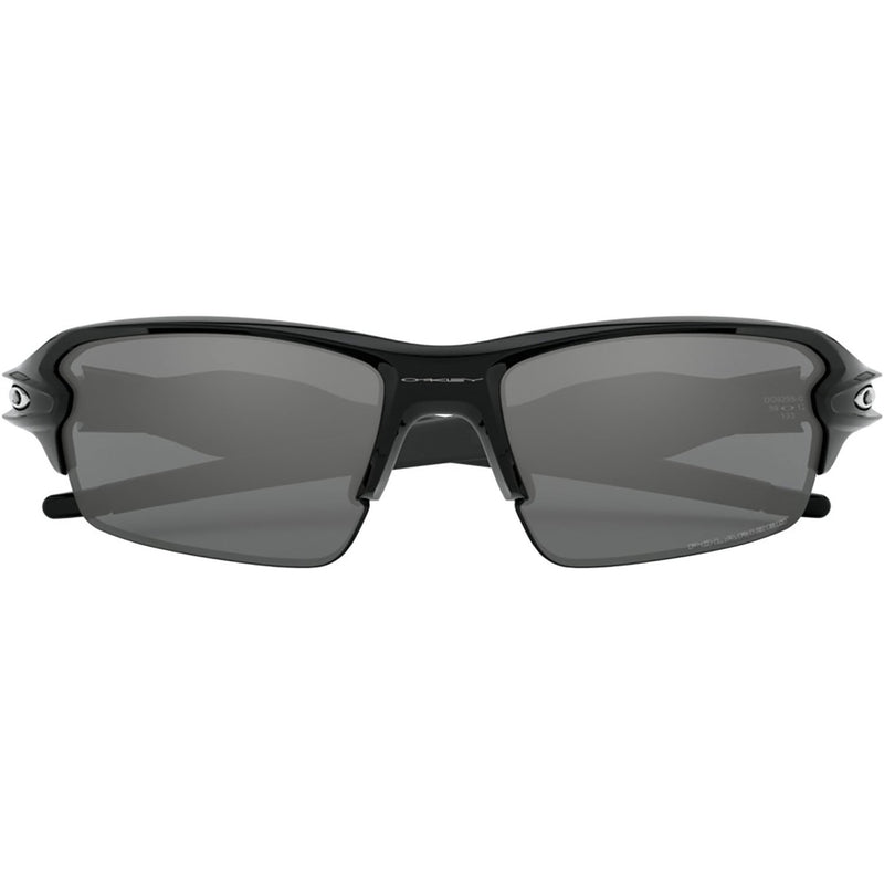 Oakley Flak 2.0 Sunglasses Polished Black / Black Iridium Polarized
