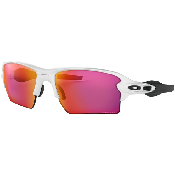 Oakley Flak 2.0 XL Sunglasses Polished White / Prizm Field #color_Polished White / Prizm Field