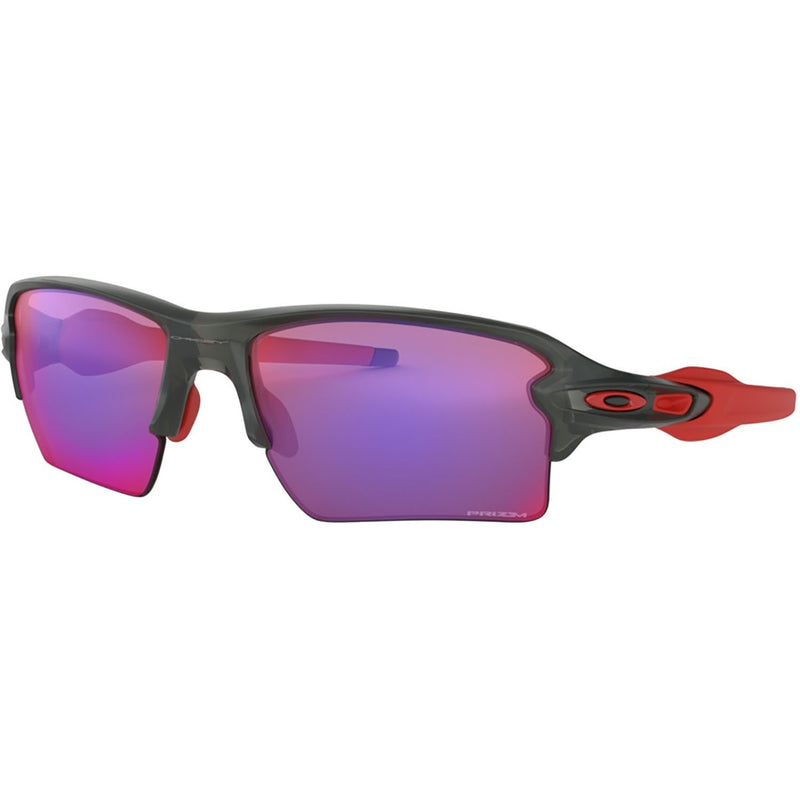 Oakley Flak 2.0 XL Sunglasses Matte Grey Smoke / Prizm Road