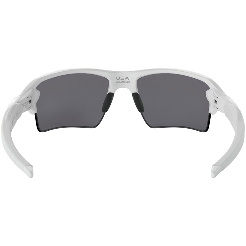 Oakley Flak 2.0 XL Sunglasses Polished White / Prizm Black Polarized