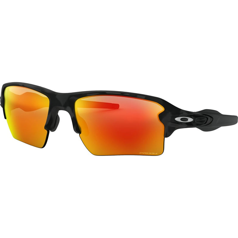 Oakley Flak 2.0 XL Sunglasses Black Camo / Prizm Ruby