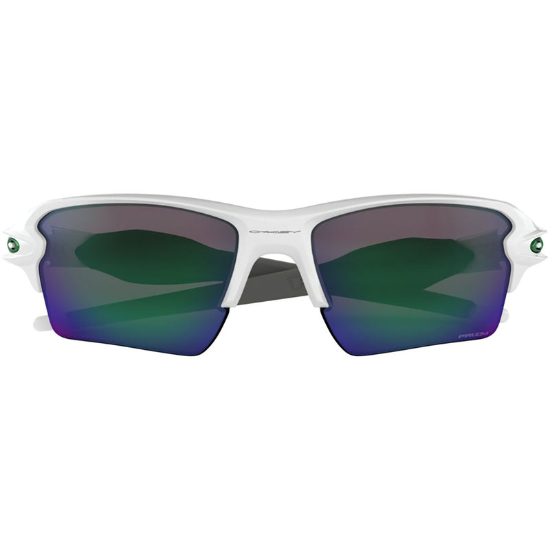 Oakley Flak 2.0 XL Sunglasses Polished White / Prizm Jade