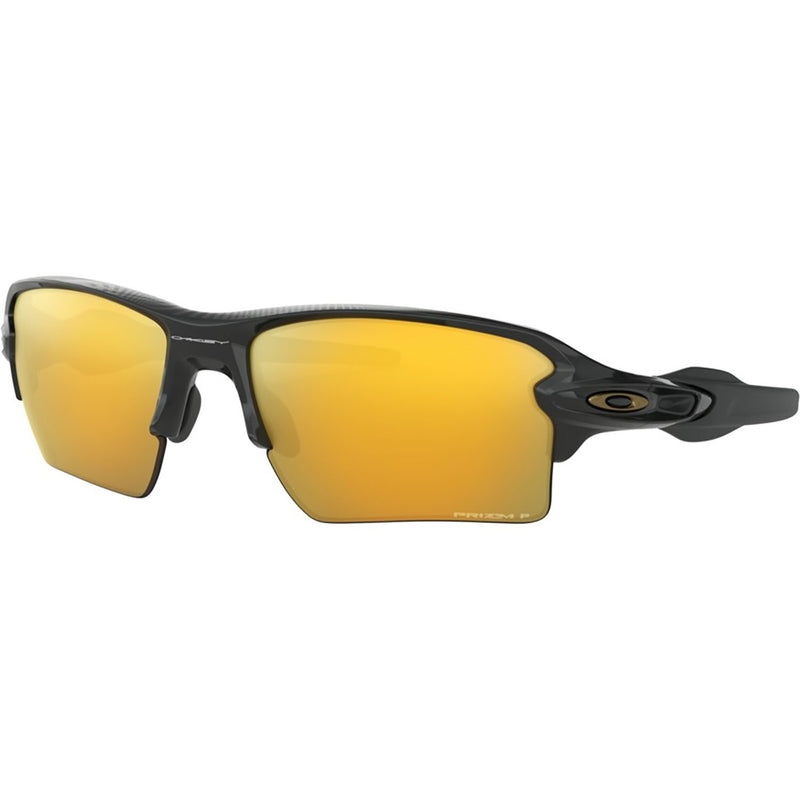 Oakley Flak 2.0 XL Sunglasses Polished Black / Prizm 24k Polarized