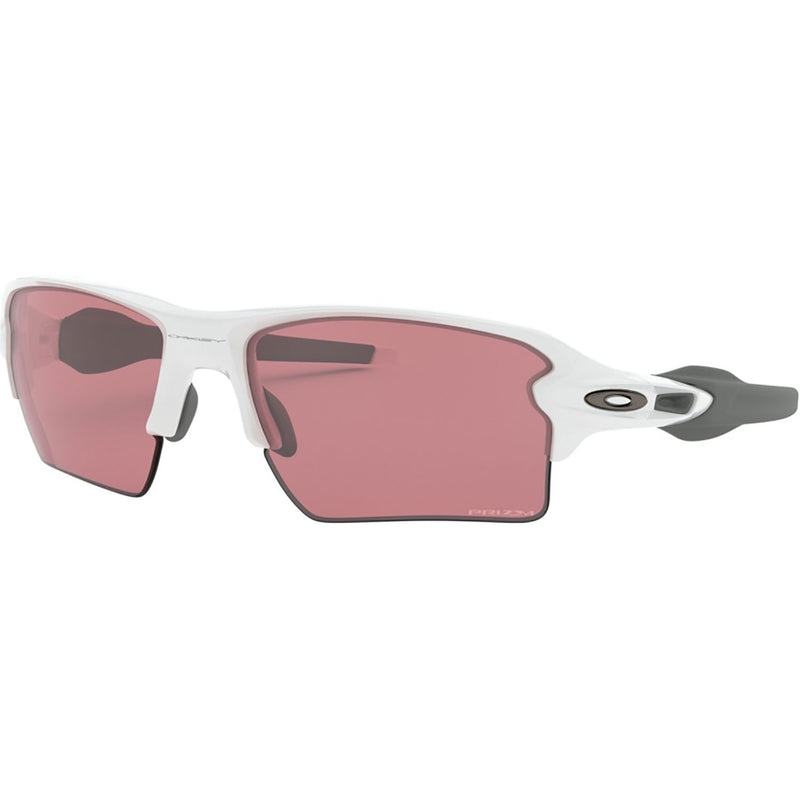 Oakley Flak 2.0 XL Sunglasses Polished White / Prizm Dark Golf