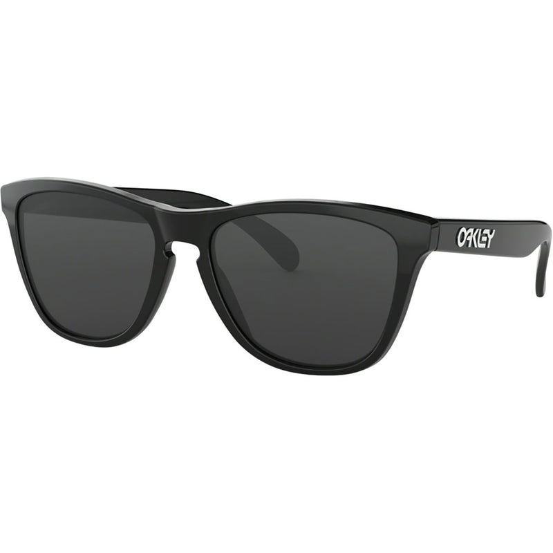 Oakley Frogskins Sunglasses Polished Black / Grey