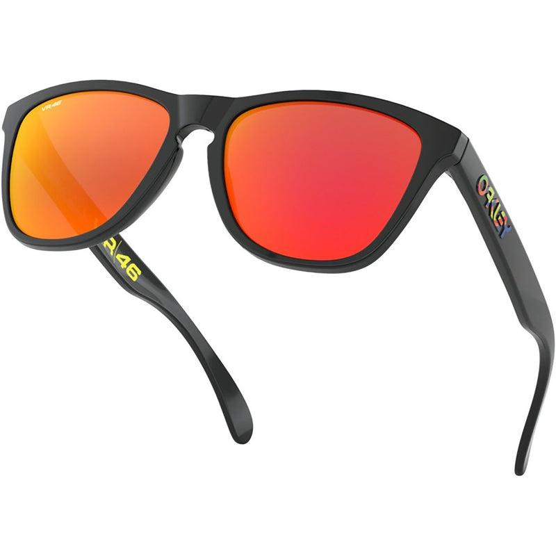 Oakley Frogskins Sunglasses Polished Black / Prizm Ruby