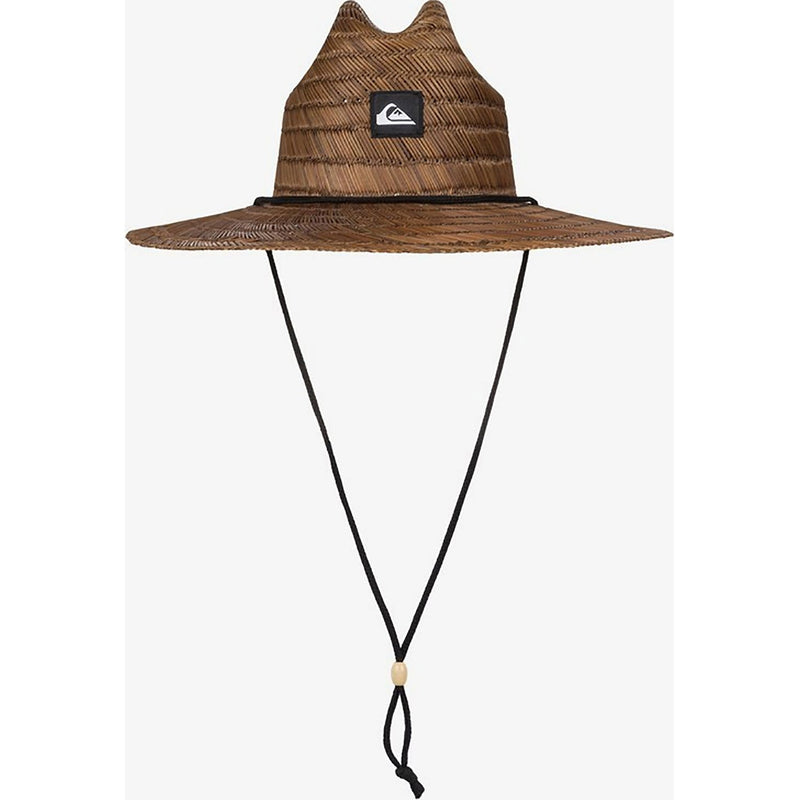 Quiksilver Pierside Straw Hat Dark Brown