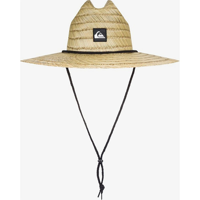 Quiksilver Pierside Straw Hat Natural White