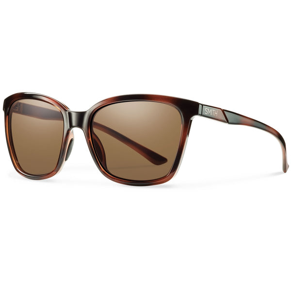 Smith Optics Colette Sunglasses Tortoise / ChromaPop Polarized Brown #color_Tortoise / ChromaPop Polarized Brown