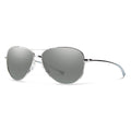 Smith Optics Langley Sunglasses Silver / Platinum #color_Silver / Platinum