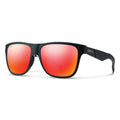 Smith Optics Lowdown Sunglasses Squall / ChromaPop Sun Red Mirror #color_Squall / ChromaPop Sun Red Mirror