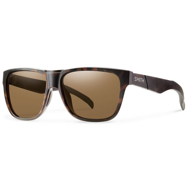 Smith Optics Lowdown Sunglasses Matte Tortoise / Chromapop Polarized Brown #color_Matte Tortoise / Chromapop Polarized Brown