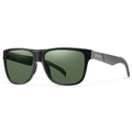 Smith Optics Lowdown Sunglasses Matte Black / ChromaPop Polarized Gray Green #color_Matte Black / ChromaPop Polarized Gray Green