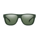 Smith Optics Lowdown Sunglasses Matte Olive Camo / ChromaPop Polarized Gray Green