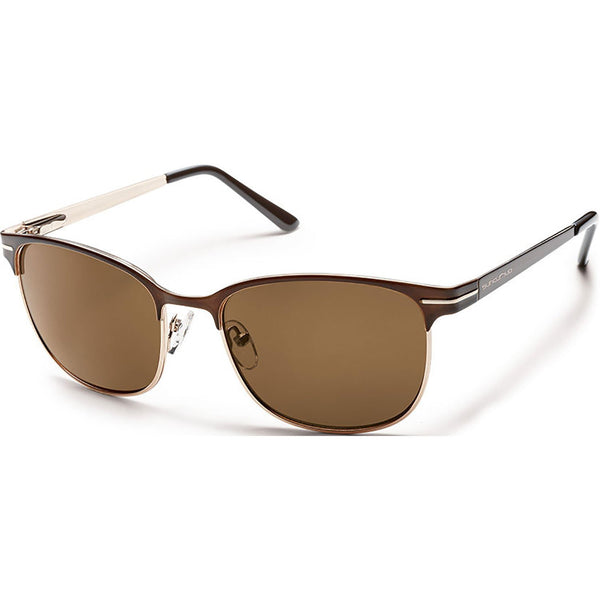 Suncloud Optics Causeway Sunglasses Brown / Polar Brown #color_Brown / Polar Brown