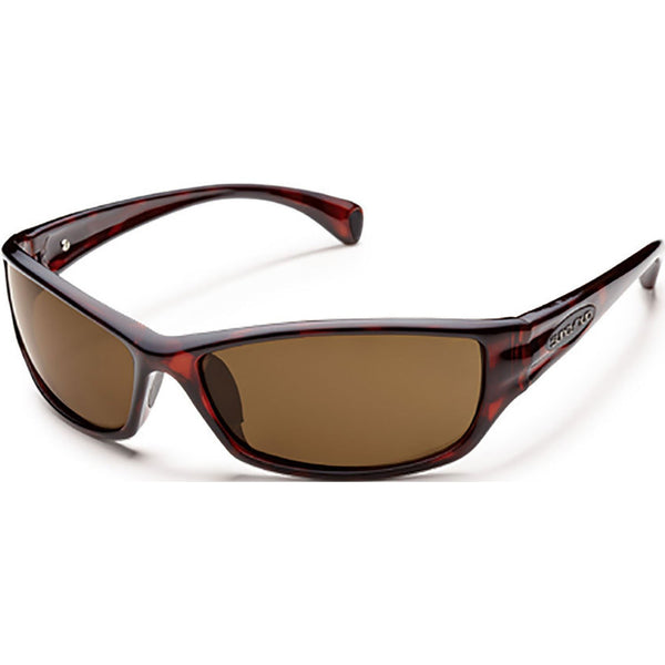Suncloud Optics Hook Sunglasses Havana / Polar Brown #color_Havana / Polar Brown