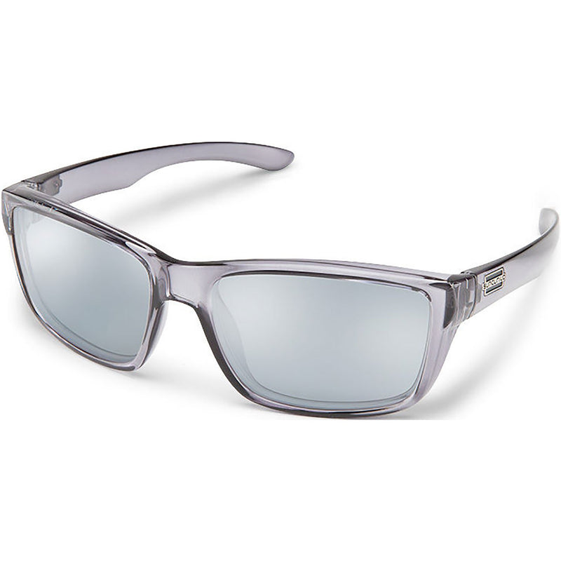 Suncloud Optics Mayor Sunglasses Transparent Gray / Polar Silver Mirror