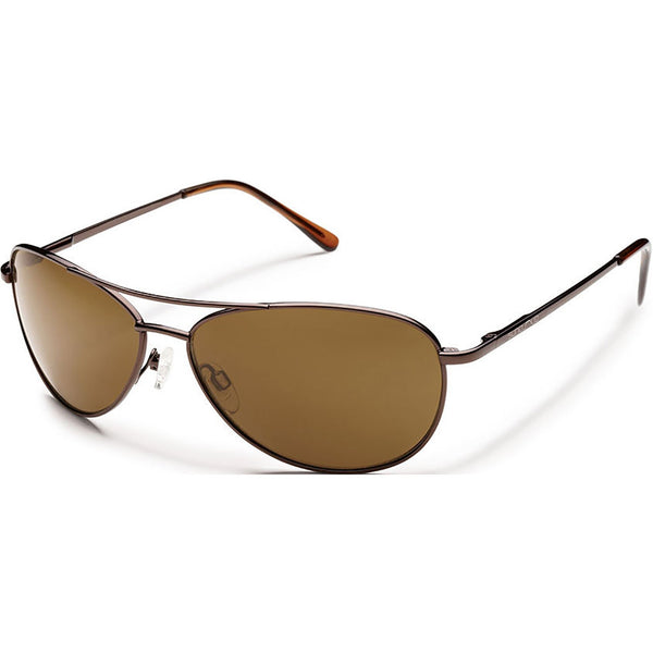 Suncloud Optics Patrol Sunglasses Brown / Polar Brown #color_Brown / Polar Brown