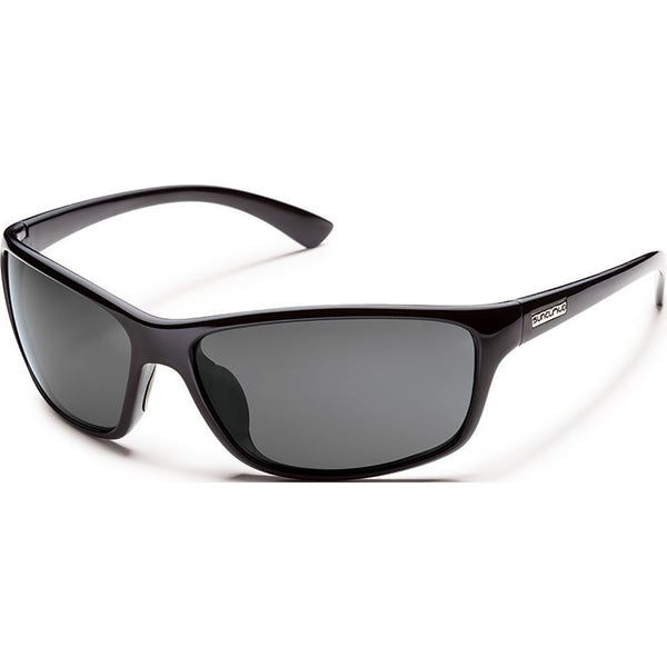 Suncloud Optics Sentry Sunglasses Black / Polar Gray #color_Black / Polar Gray