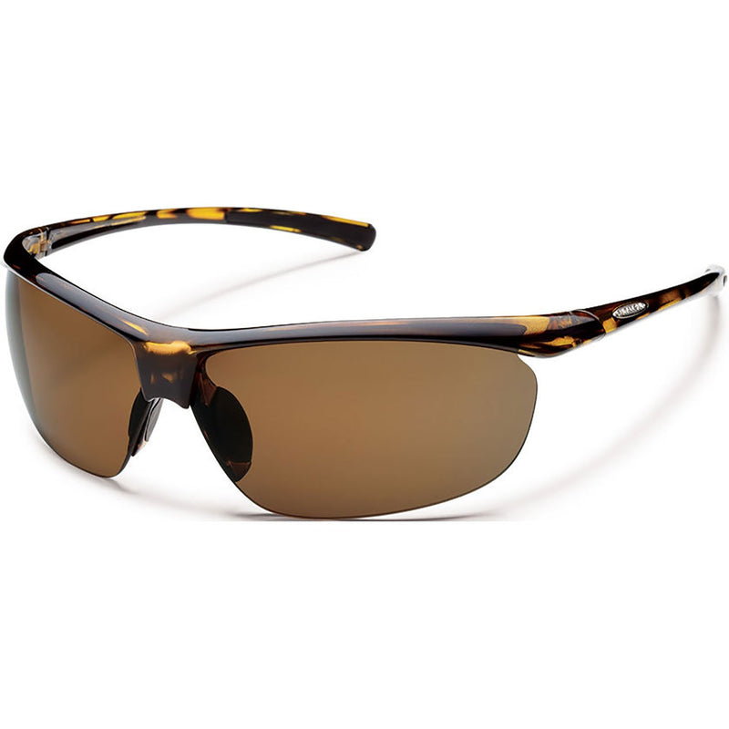 Suncloud Optics Zephyr Sunglasses Tortoise / Polar Brown