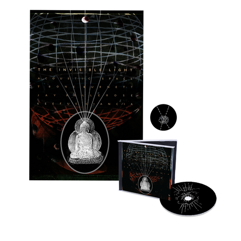 Invisible Light: Acoustic Space CD + Art Print + Enamel Pin + Digital