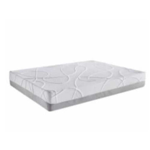 "12"" Queen Green Tea and Bamboo Charcoal Infused Polyester Memory Foam Mattress"